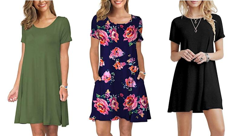 This dress is an Amazon top-seller — and just $22 (Photo: Amazon)