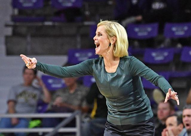 Baylor women's basketball coach Kim Mulkey. (Getty)