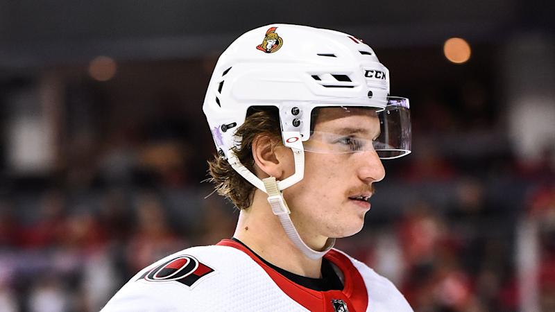 Thomas Chabot has played over an hour of hockey his last two nights. (Photo by Brett Holmes/Icon Sportswire via Getty Images)
