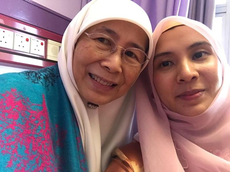 PKR: Dr Wan Azizah recovering, may leave hospital soon