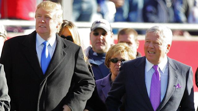 "Robert Kraft, who gave $1 million to Trump's inauguration committee, was ""deeply disappointed"" in the tone of the president's comments."