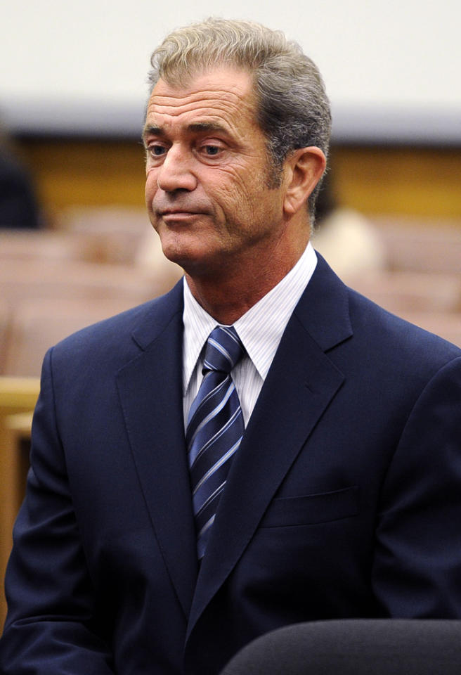 Mel Gibson and Oksana Grigorieva appear in court to agree the terms of their settlement. During the hearing in Los Angeles, California, it was agreed that Gibson would pay his ex-girlfriend $750,000. The couple have also agreed terms of the custody of their daughter Lucia. They will share legal custody and get 50/50 physical custody.