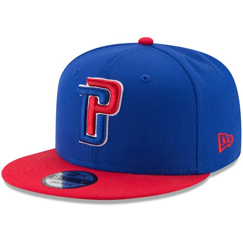 Pistons Adjustable Snapback Hat