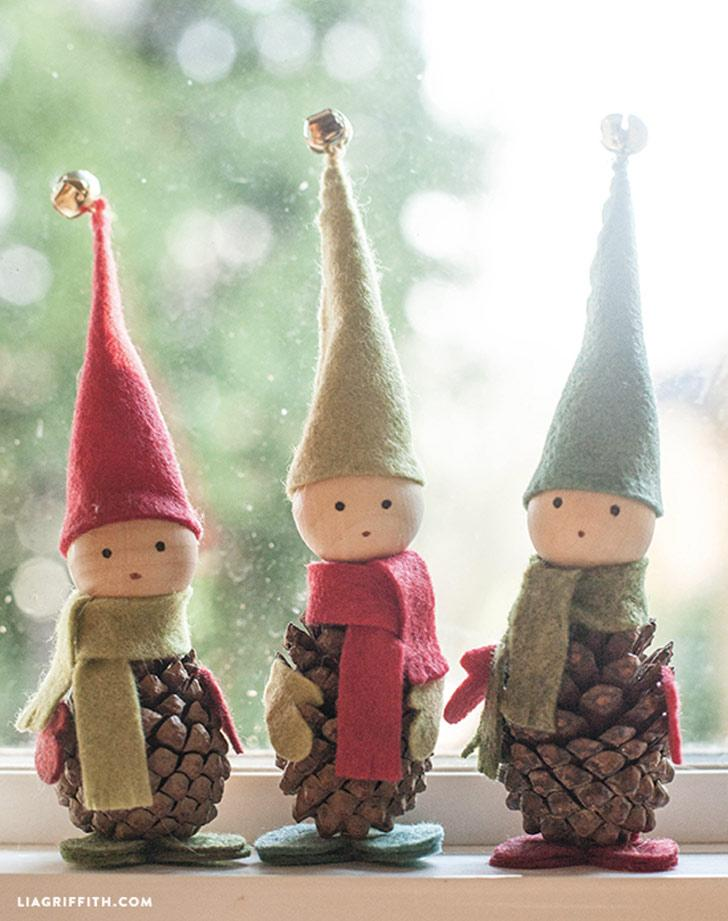 Christmas Decorations To Make Yourself.Pretty Christmas Decor You Can Make Yourself