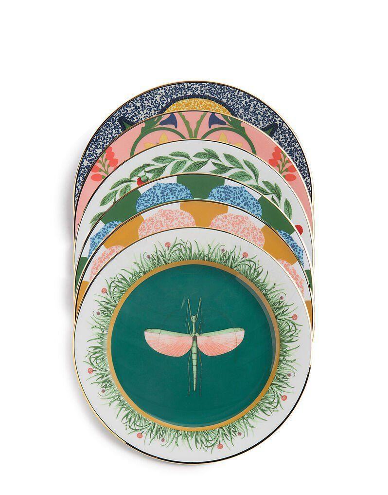 """<p><strong>LaDoubleJ </strong></p><p>ladoublej.com</p><p><strong>$350.00</strong></p><p><a href=""""https://www.ladoublej.com/default/homeware/tabletop/plates/dessert-plate-set-of-6-various-prints-DIS0004CER001ASS0001.html?cgid=homeware-tabletop-plates#page=1&start=11"""" rel=""""nofollow noopener"""" target=""""_blank"""" data-ylk=""""slk:SHOP NOW"""" class=""""link rapid-noclick-resp"""">SHOP NOW</a></p><p>Couples will likely register for their dream china, but they'll appreciate some chic options they can use daily, and that mix and match with their finer sets.</p>"""