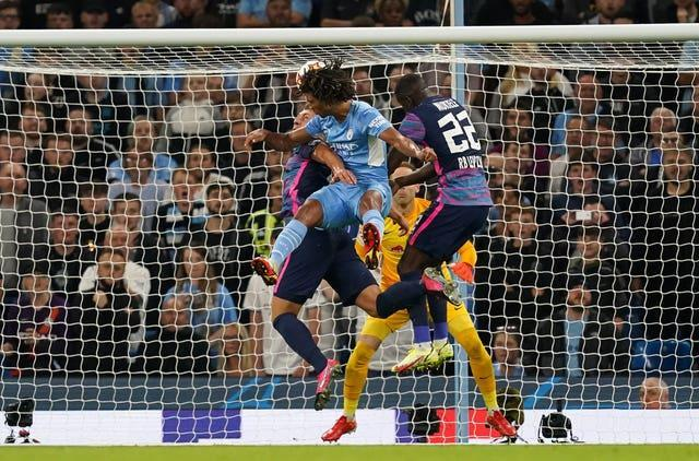 Ake scored City's opening goal but felt they could have been better defensively