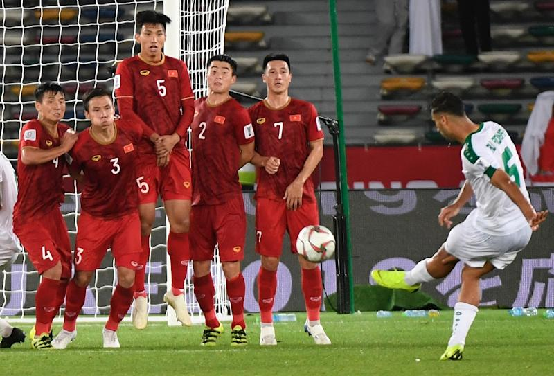 e18bffebe Late Iraqi free-kick breaks Vietnamese hearts at Asian Cup