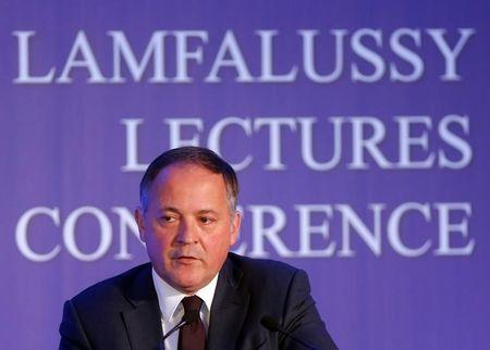 Coeure, member of the Executive Board of the European Central Bank, attends a Lamfalussy Lectures Conference in Budapest
