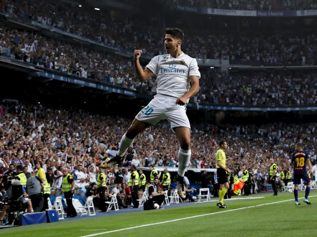 Asensio was superb in Real Madrid's emphatic two-legged victory: Getty