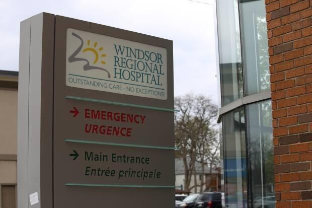 Windsor Regional Hospital CEO David Musyj says all the patients so far have been COVID positive.  (Sanjay Maru/CBC - image credit)