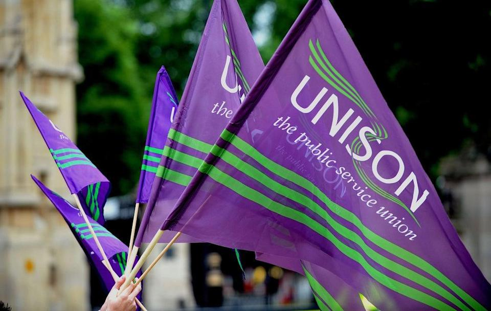 Health workers in England have voted overwhelmingly to oppose the Government's 3% pay increase (PA) (PA Archive)