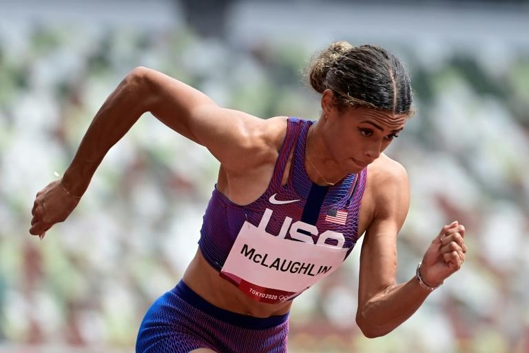 USA's Sydney Mclaughlin set a new world record in the women's 400m hurdles just before the Olympics