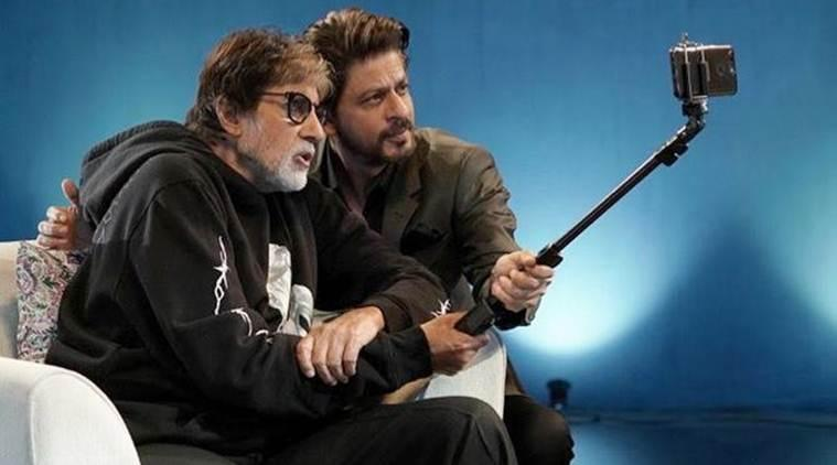 shah rukh khan and amitabh bachchan badla movie