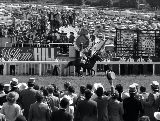 Shergar won the 1981 Derby by a record 10 lengths (PA Archive)