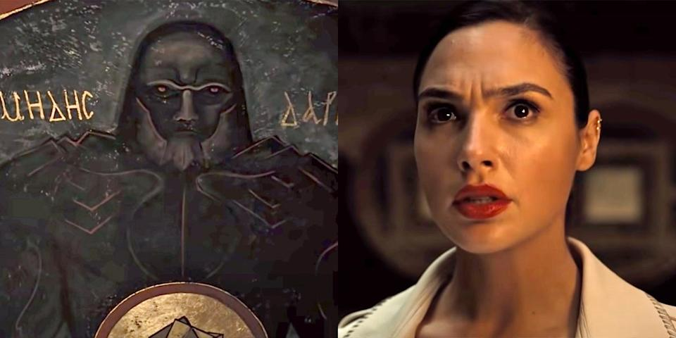 Darkseid was teased in an HBO Max trailer.