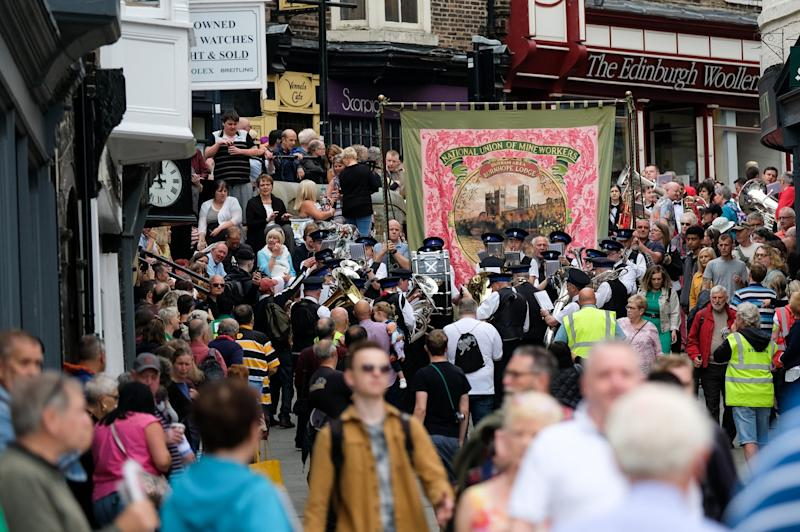 The Durham Miners Gala in 2019: Getty