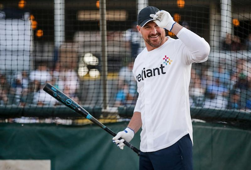 Happy to be back: Jason Witten says he ended his retirement because he believes this Dallas Cowboys roster has a great chance to win a Super Bowl. (AP)