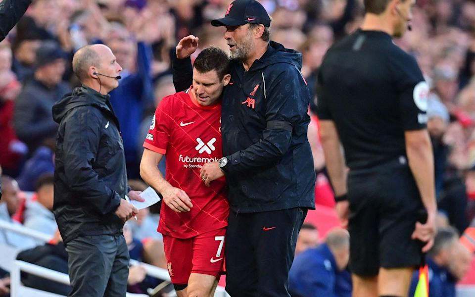 James Milner's lucky escape shows Var still has yellow card flaw - AFP