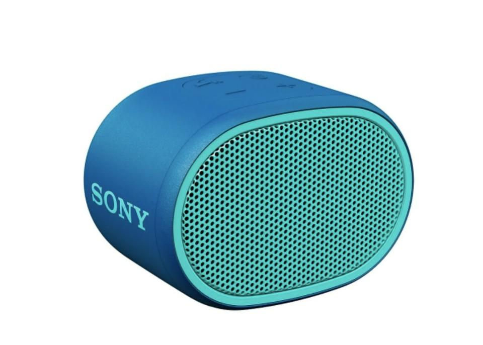 Sony SRSXB01/L EXTRA BASS Bluetooth Wireless Speaker. (Image via Staples Canada)