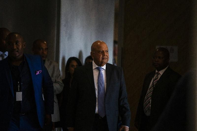 Pravin Gordhan, South African Minister of public Enterprise and anti-graft campaigner, estimates around $7 billion may have been stolen through corrupt government tenders (AFP Photo/Wikus de Wet)