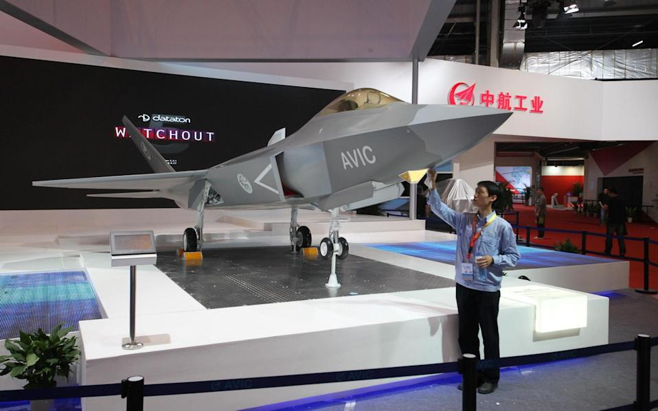 A mock-up of the FC-31, which has been 10 years in the making - ALAMY