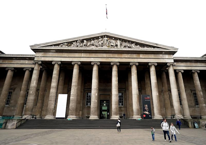 The British Museum said it will not remove controversial objects (PA)