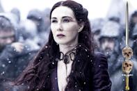 <p>Even though she's probably lost some of her faith in the wake of Stannis's stunning defeat, this Lord of Light priestess still has formidable tricks like poison and shadow babies up her sleeve. That should keep her safe when things get dark.</p><p><i>(Credit: Helen Sloa/HBO)</i></p>