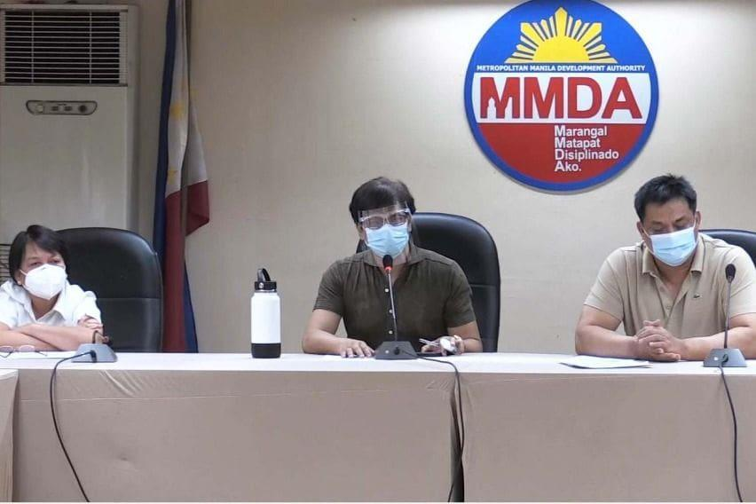 MMDA meeting with private companies