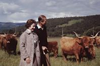 <p>On the grounds of Balmoral Castle, a large vegetable garden is reportedly Prince Philip's purview.</p>