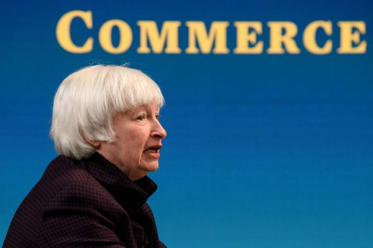 US Treasury Secretary Janet Yellen said a package investing in people and infrastructure would create jobs