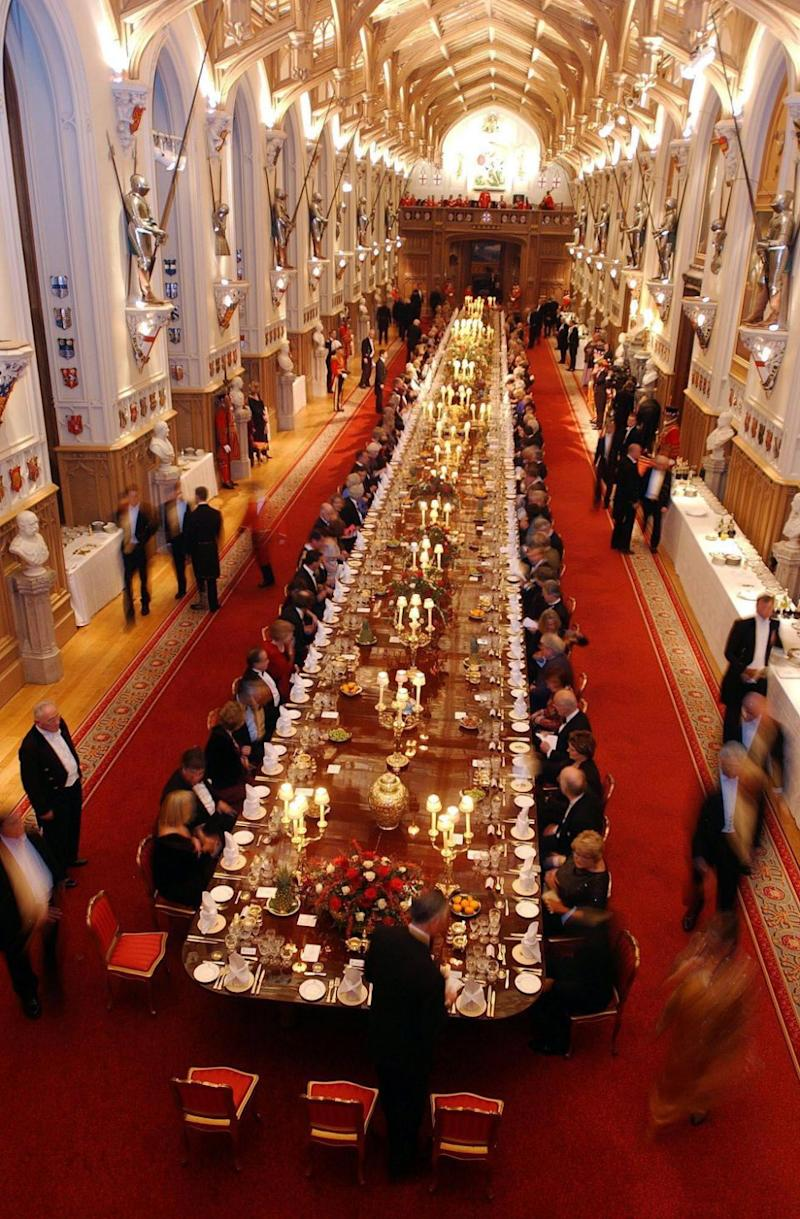 They will then have a reception at St George's Hall. Photo: Getty Images
