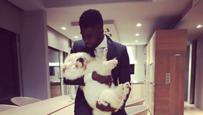 VIDEO: Barcelona Post Day in the Life Video of Defender Samuel Umtiti & His Amazing Dog