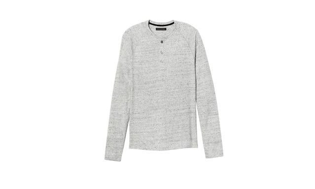 "<p>Men's soft-wash long-sleeve raglan henley, $37, <a href=""https://www.shopspring.com/products/54300541"" rel=""nofollow noopener"" target=""_blank"" data-ylk=""slk:shopspring.com"" class=""link rapid-noclick-resp"">shopspring.com</a> </p>"
