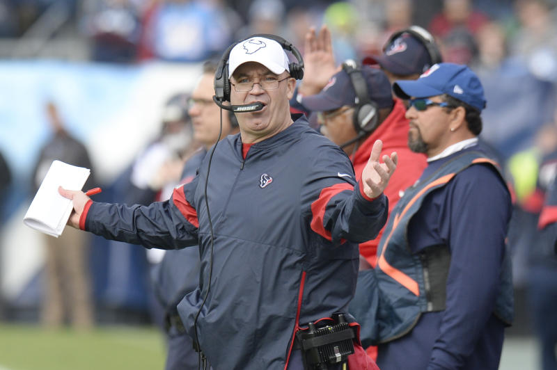 Houston Texans head coach Bill O'Brien had a rough offseason. (AP Photo/Mark Zaleski)