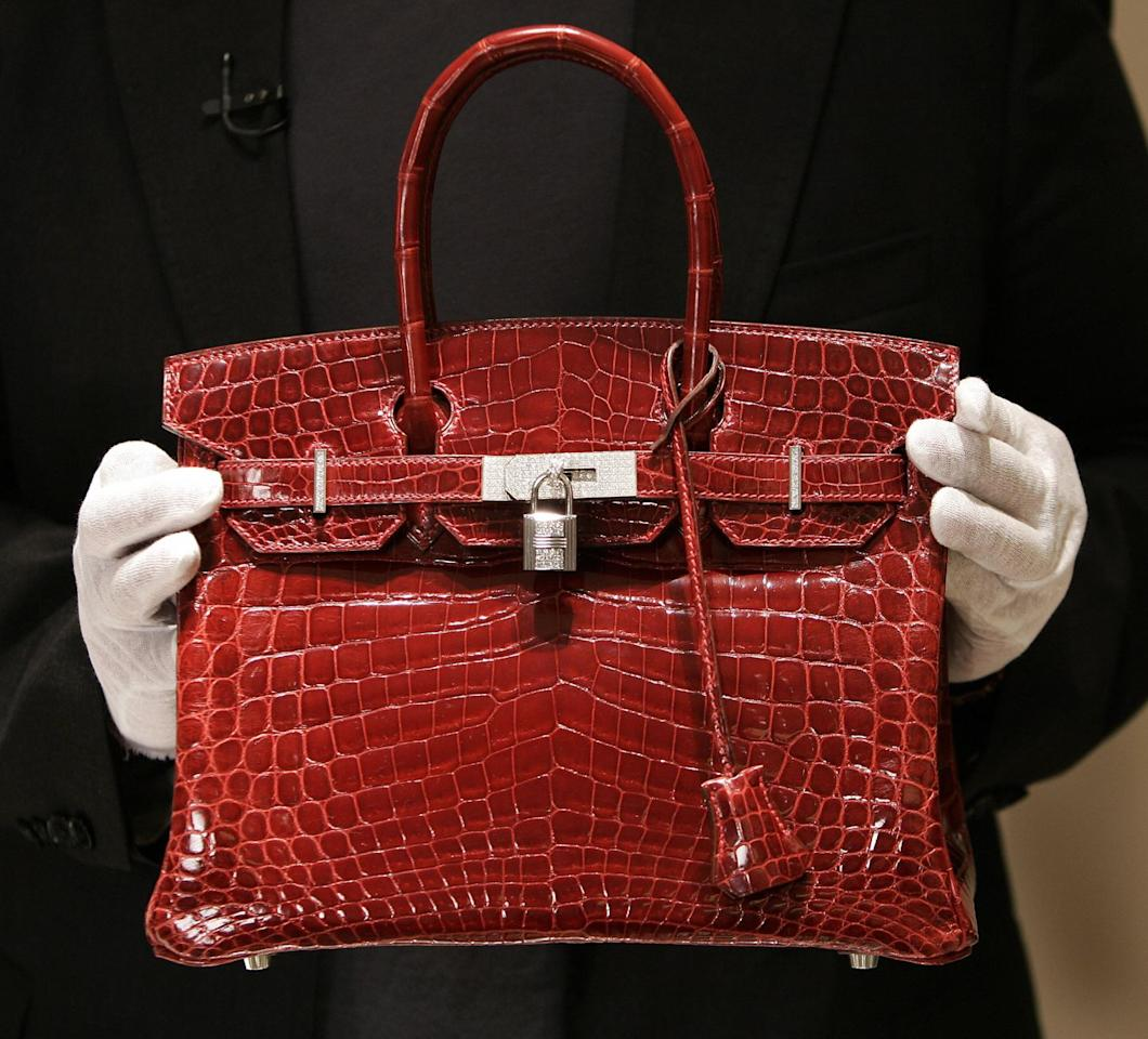 <p>Today, the Birkin bag is kept at a high level of exclusivity by the brand. Due to their low production quantity, the Birkin is considered an investment piece, increasing in price around 14.2 percent each year from 1980 to 2015. The bag is made over several days using the company's signature saddle stitch in different hardware finishes and skins from various tanneries. In 2017, a crocodile Himalayan Birkin with diamond finishings was sold in auction at Christie's in Hong Kong for $379,261, coming a long, long way since its $2,000 price tag when the bag debuted in 1984.</p>