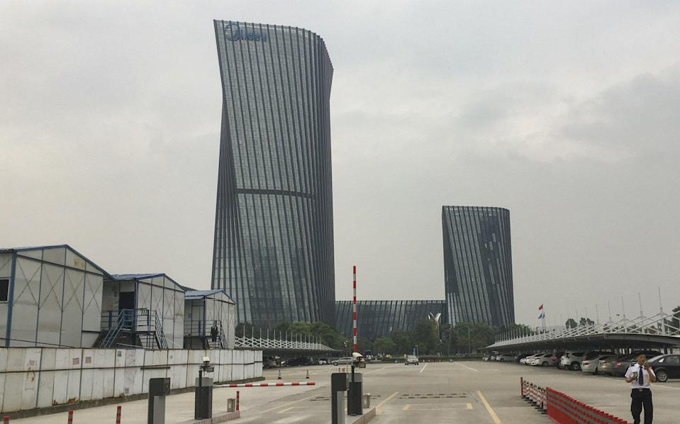 A view of consumer appliances giant Midea Group's headquarters in the Shunde district of Foshan, a city in southern Guangdong province. Photo: Martin Chan