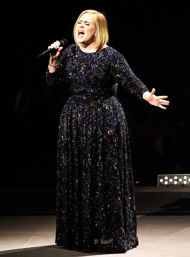 <p>Adele has released just three albums, fewer than anyone else on this list. Her top sellers are her 2011 sophomore album, 21 (14 million), and its 2015 follow-up, 25 (10 million). Adele, now age 28, is the only artist from England on this list. (Photo: Paul Morigi/Getty Images for BT PR) </p>