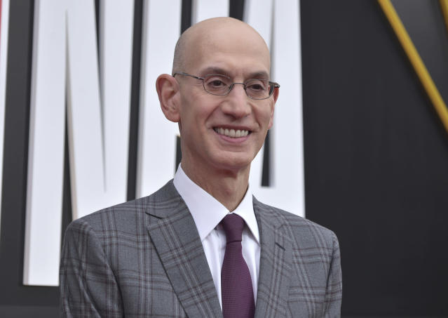 NBA commissioner Adam Silver announced changes on Friday as voted on by the Board of Governors. (Richard Shotwell/AP Photos)