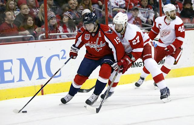 Nicklas Backstrom unsure if he'll be ready for start of Capitals' season
