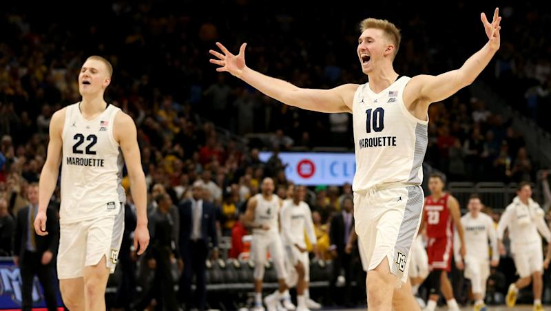 Sam, Joey Hauser to transfer from Marquette