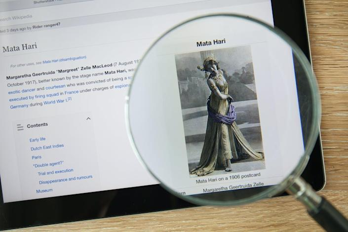 """<span class=""""caption"""">Less than a third of biographical entries on Wikipedia are about women. </span> <span class=""""attribution""""><span class=""""source"""">aradaphotography/shutterstock.com</span></span>"""