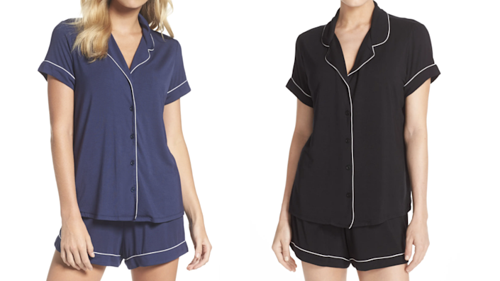The Moonlight short pajamas are among the most popular among Nordstrom shoppers.