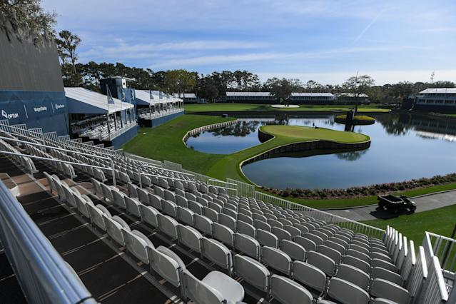 Everything stopped at The Players, and everywhere else. (Ben Jared/PGA TOUR via Getty Images)
