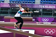 Japanese skateboarder Yuto Horigome was part of a gold rush for the host nation at the Tokyo Olympics on Sunday