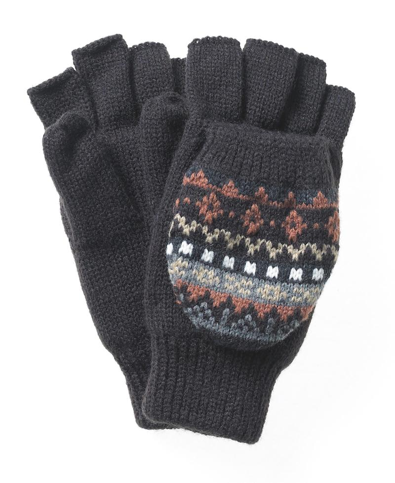 In this product photo provided by Macy's, American Rag Mittens, available at Macy's (Jacquard) $10.50, are shown. (AP Photo/Macy's) ** NO SALES **