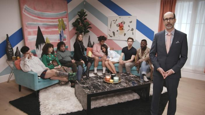 """A scene from """"The Coop,"""" an interactive murder mystery reality TV show on Eko. <span class=""""copyright"""">(Eko)</span>"""