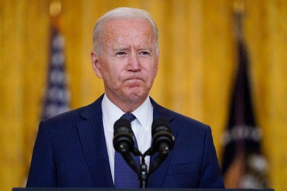 File: Joe Biden has not issued a denial of such a list being shared with the Taliban  (AP)