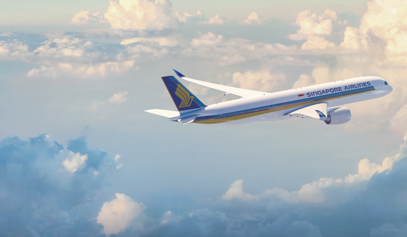 Globeshrinker: Singapore Airlines Airbus A350-900: Singapore Airlines