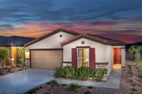KB Home's The Enclaves and The Traditions, Two New-Home Communities in the Blue Horizons Master Plan, Now Open in Buckeye, Arizona