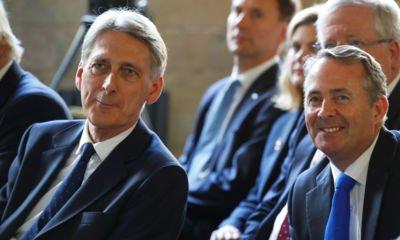 Brexit: Hammond and Fox pledge fixed transition to avoid 'cliff-edge'